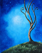 Fantasy Tree Posters - Tranquil Moments by Shawna Erback Poster by Shawna Erback