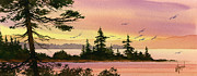 Seacoast Prints - Tranquil Shore Print by James Williamson