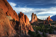 Canadian Photographers Prints - Tranquility In The Garden Of The Gods Print by Bob Christopher