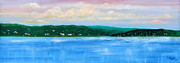 Rumson Prints - Tranquility on the Navesink River Print by Leonardo Ruggieri