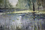 Wisconsin Landscape  Painting Originals - Tranquillity by Ryan Radke