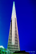 Pyramid Mixed Media - Transamerica Pyramid by  Ilona Anita Tigges - Goetze