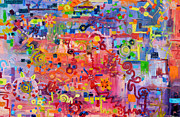 Disorder Paintings - Transition to Chaos by Regina Valluzzi