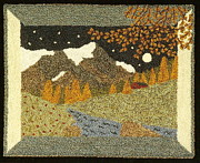 Autumn Landscape Tapestries - Textiles Prints - Transitions Print by Jan Schlieper