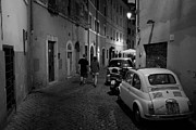 Trastevere Framed Prints - Trastevere Stroll  Framed Print by Corey Sheehan