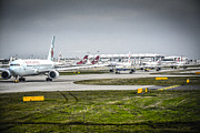 Airlines Photo Originals - Travel Delays by Chris Smith