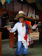Sales Metal Prints - Traveling Salesman Metal Print by Al Bourassa