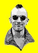Robert De Niro Art - Travis Bickle by Tom Deacon