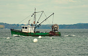 Trawler Metal Prints - Trawler Metal Print by Robert Hayes