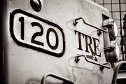 Commuting Posters - Tre 120 Poster by Joan Carroll