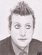 Green Day Art - Tre Cool by Willow Quillen