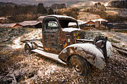 Old Trucks Photos - Treasures by Debra and Dave Vanderlaan