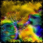 Liane Wright - Tree Abstract - Bold Is...