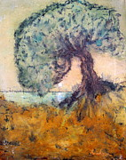 Brinkman Artworks - Tree at Sunset Over Water