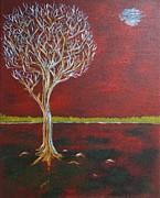Zeke Nord - Tree in Moonlight