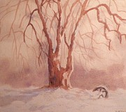 Suzanne McKay - Tree in Snow