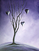 Romantic Paintings - Tree Of Everlasting Promises by Shawna Erback by Shawna Erback