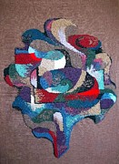 With Tapestries - Textiles Originals - Tree of Life by Armen Abel Babayan
