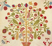 New York Tapestries - Textiles - Tree of Life   circa 1850 by Artist Unknown