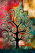 Tree Of Life II Print by Jaison Cianelli