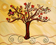 Neutral Colors Originals - Tree of Life in Neutral by Catherine Barry Hayes