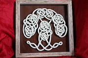Wood Work Reliefs - Tree Of Life -my way by Elke Wessel