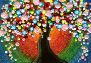 Shirley Mixed Media - Tree of Life by Shirley Dawson