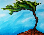Macrocosm Paintings - Tree of Life by Tiffany Buttcher