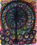 Tree Of Life Drawings - Tree of Life by Tracy Smith