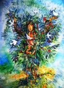 Tree Of Life  Print by Trudi Doyle