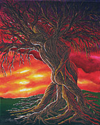 Love Making Paintings - Tree of Love by Colleen Murphy