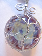 Wire-wrapped Jewelry Originals - Tree Of Souls by Tareen Rayburn