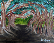 Featured Originals - Tree Tunnel by Suzanne Surber