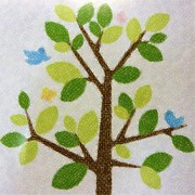 Gift Pastels Originals - Tree With Birds by Florene Welebny