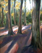 Natchez Trace Parkway Originals - Trees at Glenrock Branch by Erin Rickelton