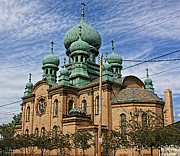 Onion Domes Photos - Tremont Church by Jenny Hudson
