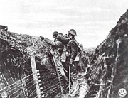 Aef Prints - Trench Warfare Print by Unknown