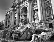 Trevi Fountain Print by Dan Cornock