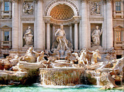 Trevi Fountain. Rome Print by Jennie Breeze