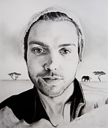 Photographer Drawings Originals - Trevor Hall by Jesska Hoff