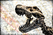 Tyrannosaurus Rex Digital Art - TRex by Bill Cannon