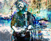 Trey Anastasio Prints - Trey Print by David Plastik