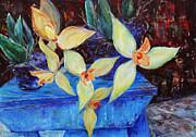 Triangular Blossom Print by Xueling Zou