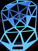 Hexagons Photos - Triangulation by Randall Weidner