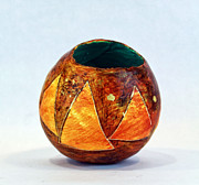 Orange Ceramics - Triangulum No. 1 by Mark M  Mellon