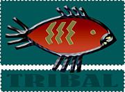 Daryl Macintyre - Tribal Fish l