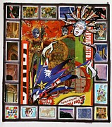 African Dance Mixed Media Posters - Tribalism Poster by Yves Barre