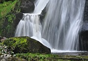 Germany Photo Originals - Triberg lower falls by Matt MacMillan