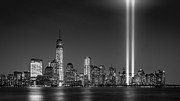 September 11 Originals - Tribute in Light 2013 by Mihai Andritoiu