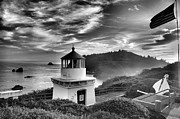 Trinidad Prints - Trinidad Light In Black And White Print by Adam Jewell
